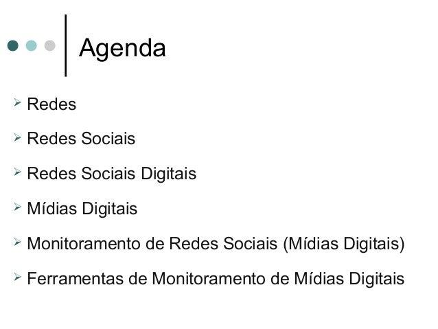 Redes Sociais e Monitoramento de Mídias Digitais Slide 2