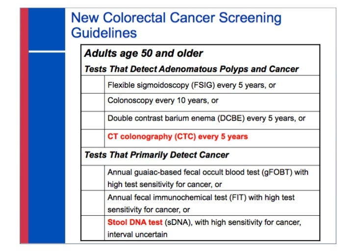 colon cancer screening australia guidelines
