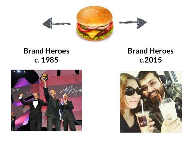 GRAHAMDBROWN.COM124 Brand Heroes c. 1985 Brand Heroes c.2015