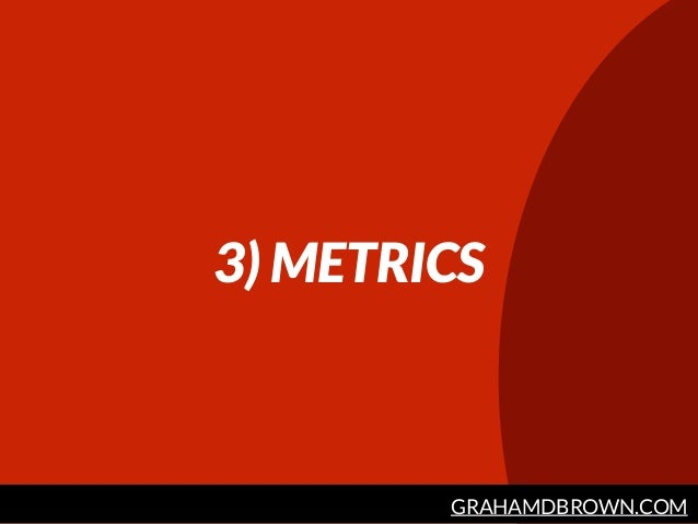 GRAHAMDBROWN.COM 3) METRICS