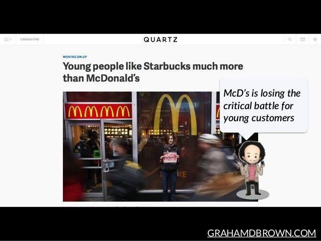 GRAHAMDBROWN.COM McD's is losing the  critical battle for  young customers