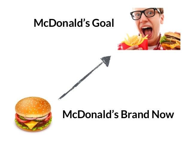 GRAHAMDBROWN.COM4 McDonald's Brand Now McDonald's Goal