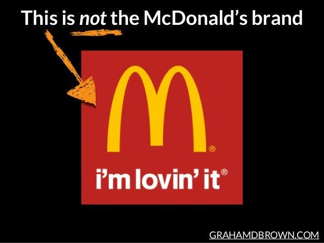 GRAHAMDBROWN.COM This is not the McDonald's brand