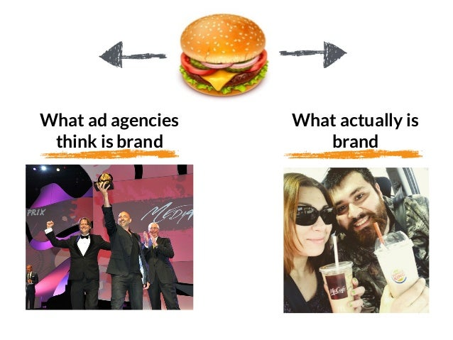 GRAHAMDBROWN.COM58 What ad agencies think is brand What actually is brand