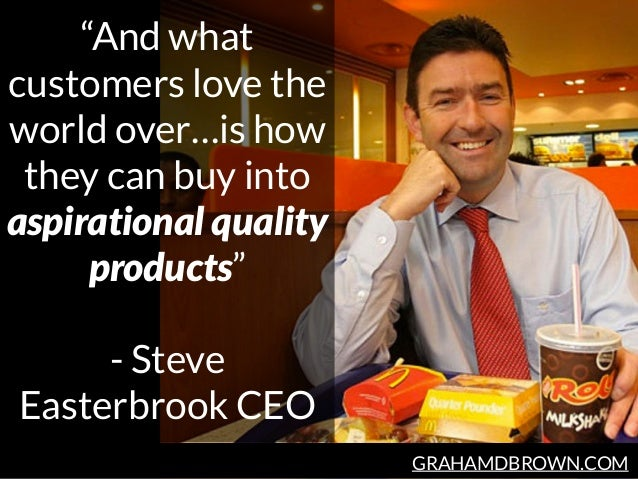 """GRAHAMDBROWN.COM """"And what customers love the world over…is how they can buy into aspirational quality products"""" - Steve E..."""