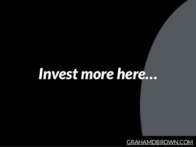 GRAHAMDBROWN.COM Invest more here…