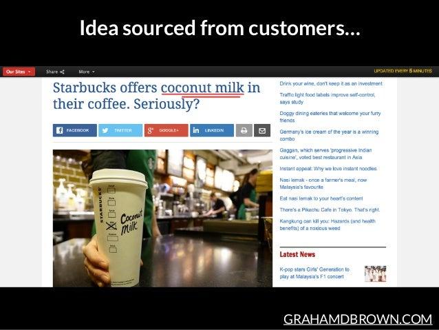 GRAHAMDBROWN.COM Idea sourced from customers…
