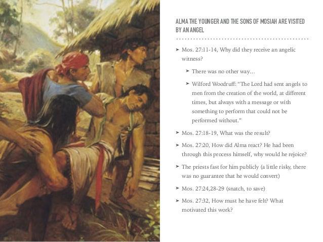 LDS Gospel Doctrine Book Of Mormon Lesson 20