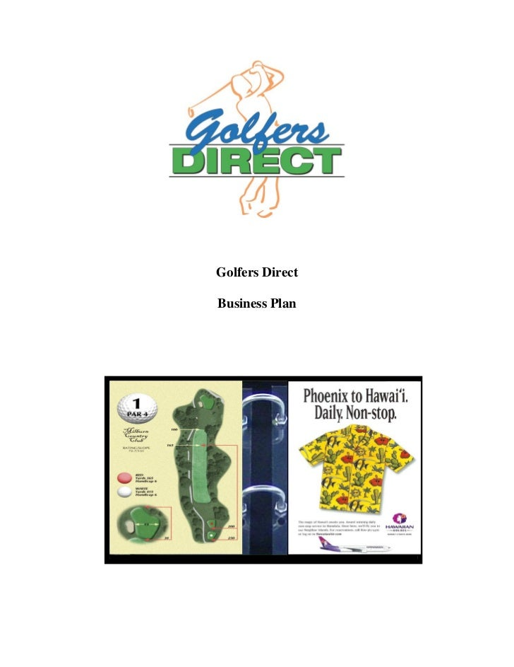 Golfers DirectBusiness Plan