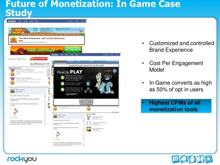 monetization model for social games Nick day is the creative director at mobile and social gaming company plarium   games that inherently support the f2p monetization model.