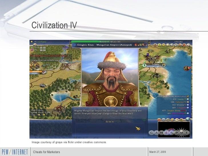 Civilization IV Image courtesy of graye via flickr under creative commons