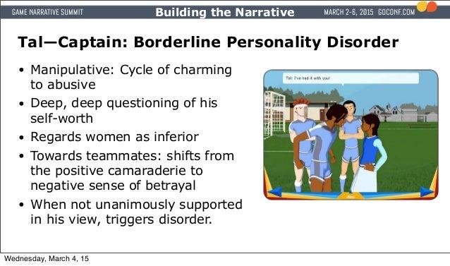 Building Sense Of Self In Borderline Personality Disorder