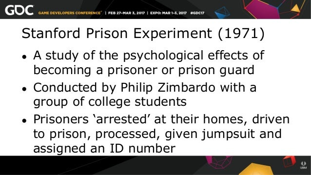Ethical Issues of the Stanford Prison Experiment