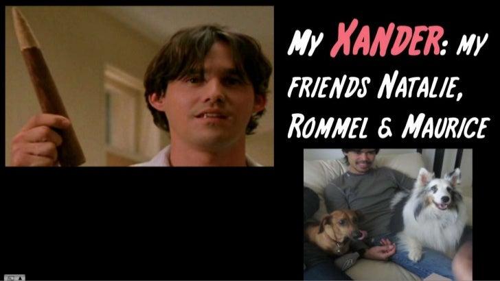 My Xander: my friends Natalie, Rommel & Maurice<br />