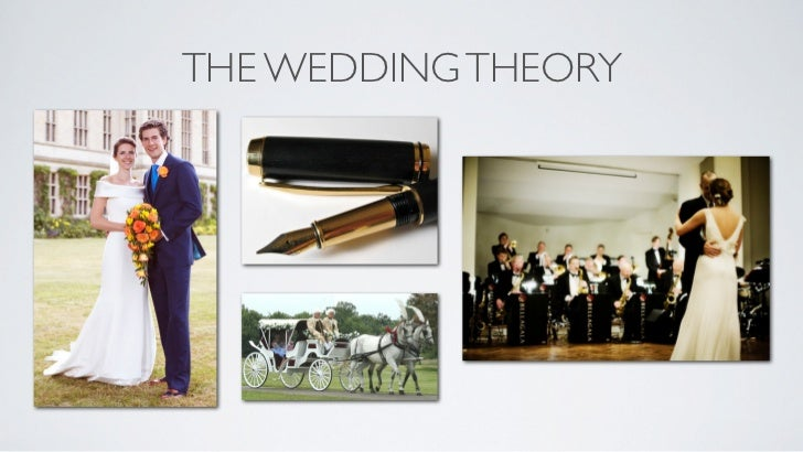 THE WEDDING THEORY