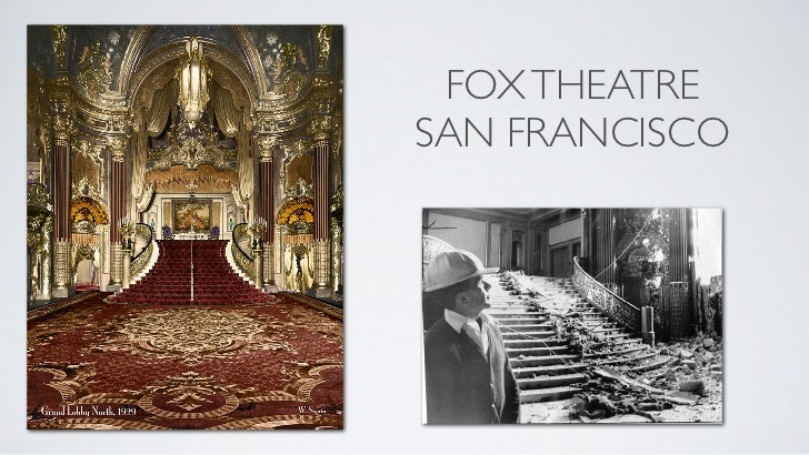 FOX THEATRESAN FRANCISCO