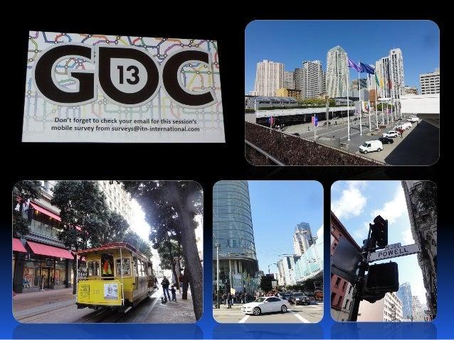 GDC 2013 AUDIO REPORTゲームオーディオ トピック2013/5/24バンダイナムコスタジオ サウンド部 中西哲一