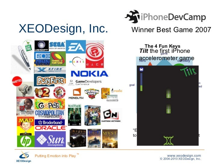The 4 Most Important Emotions for Social Games, Nicole Lazzaro 100311 Slide 2