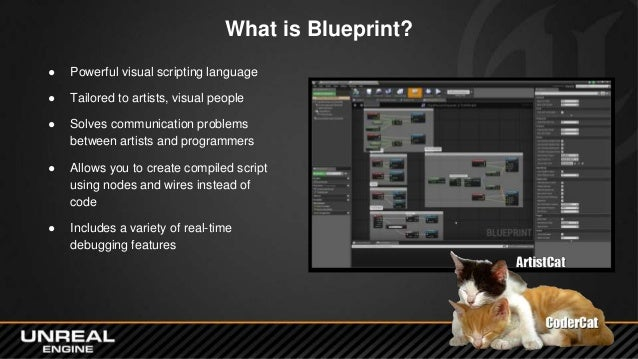 Gdce 2015 blueprint components to c 6 what is blueprint powerful visual scripting malvernweather Image collections