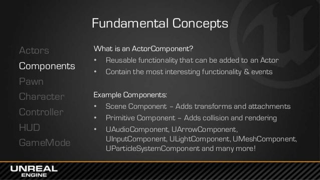 GDC Europe 2014: Unreal Engine 4 for Programmers - Lessons