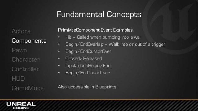 Gdc europe 2014 unreal engine 4 for programmers lessons learned 25 malvernweather Choice Image