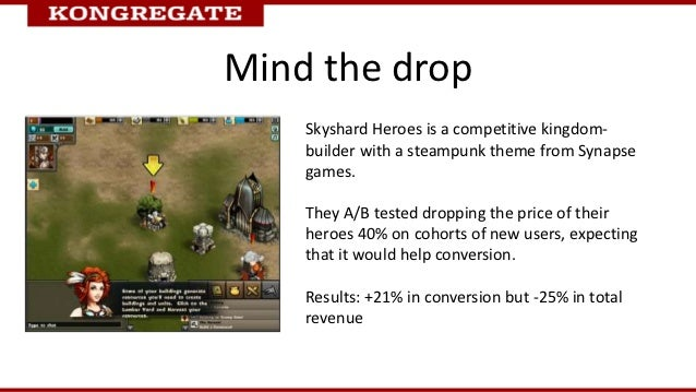 Mind the drop    Skyshard Heroes is a competitive kingdom-    builder with a steampunk theme from Synapse    games.    The...
