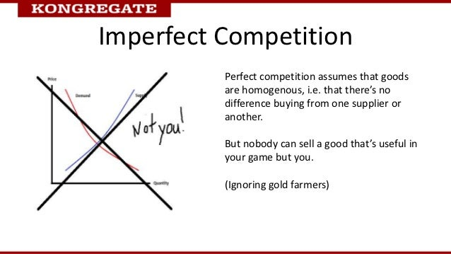 Imperfect Competition          Perfect competition assumes that goods          are homogenous, i.e. that there's no       ...