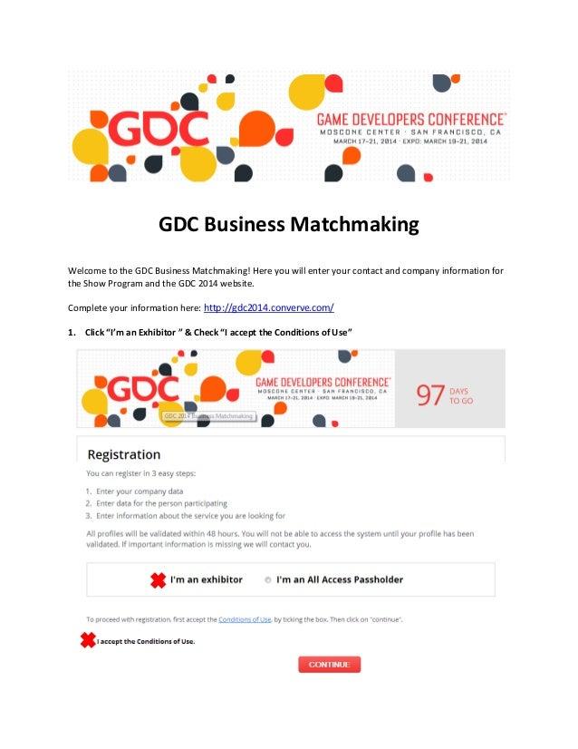 Business Matchmaking Program