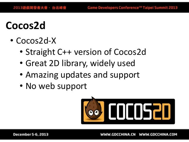 Other Options • Titanium Studio • Corona • GameMaker • Stencyl • Marmalade