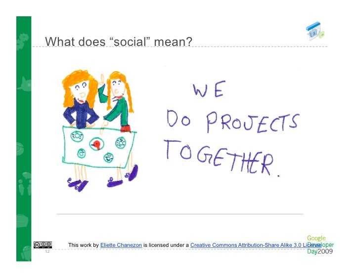 In 7 words ...  Web. Good. + Social. Good. = Social Web. Better!