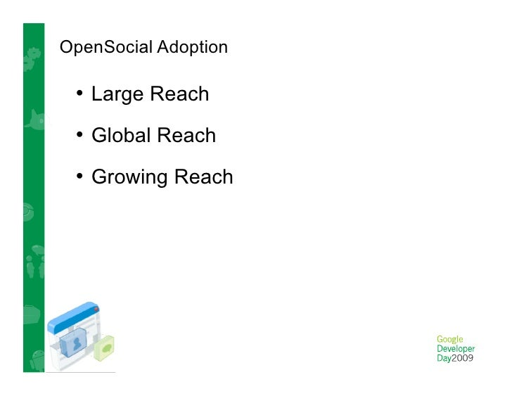 OpenSocial in China • Containers         • App Developers
