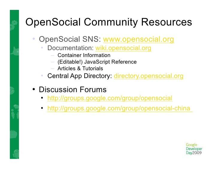 OpenSocial in the Enterprise   • SAP  • Exo Platforms  • Atlassian