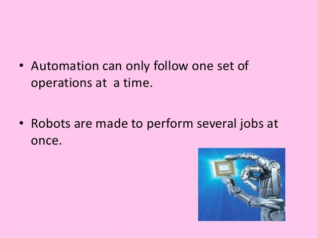 MACHINE ARE EMPLOYED IN VARIOUS SECTORS