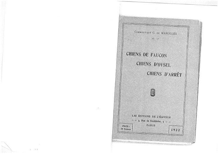 """G. de Marolles - """"Chiens de Faucon..."""""""