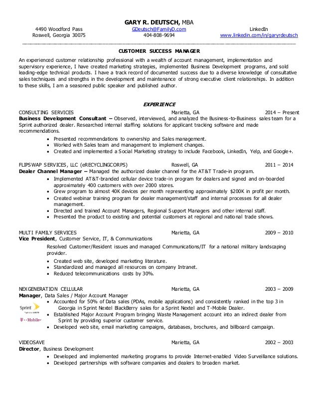 gary r  deutsch resume