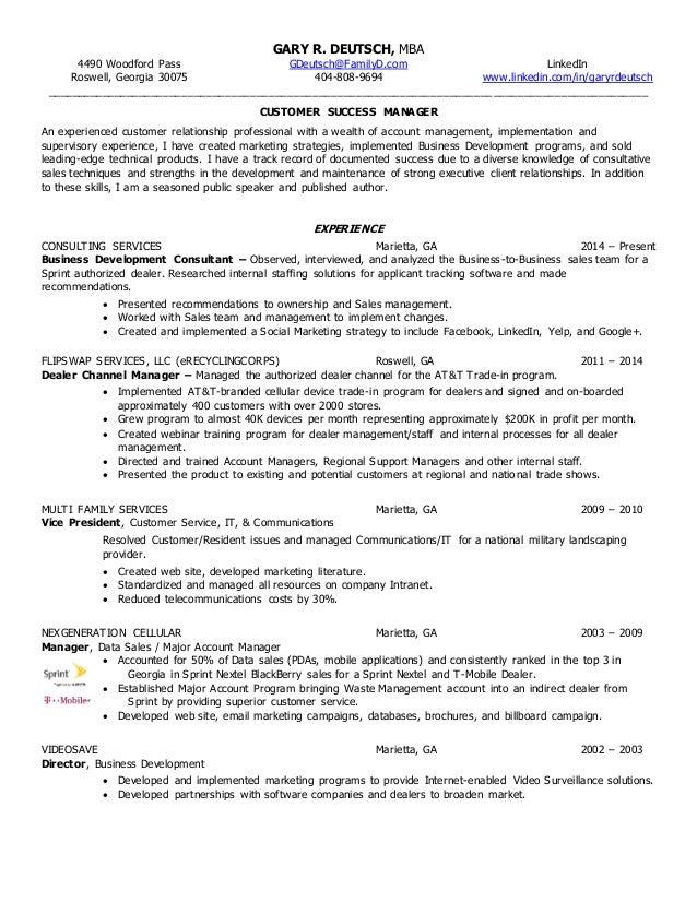 SlideShare  Resume For Customer Service