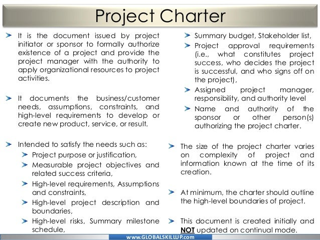 Complete Online PMP Study Training Material For PMP Exam Provided Fre - Pmp project charter template