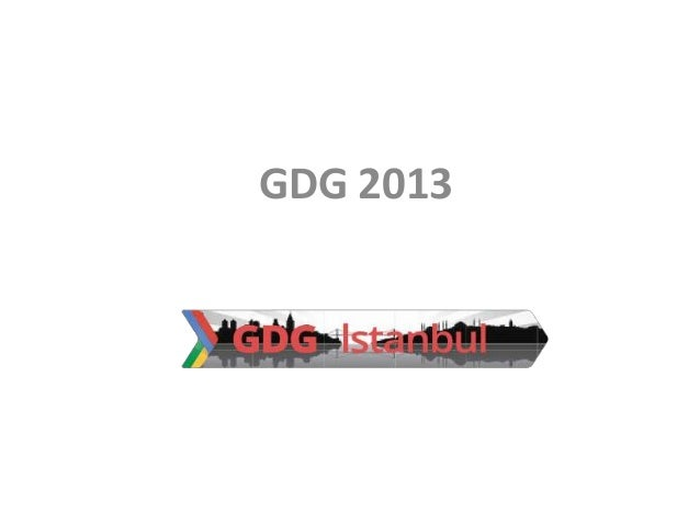 GDG 2013