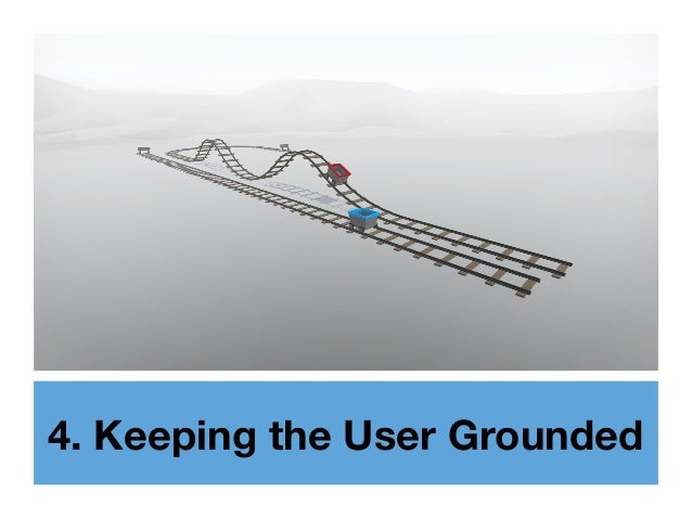 4. Keeping the User Grounded