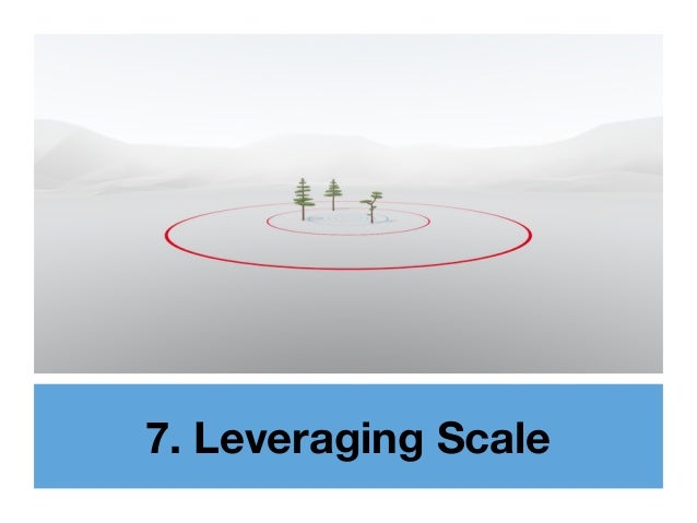 7. Leveraging Scale