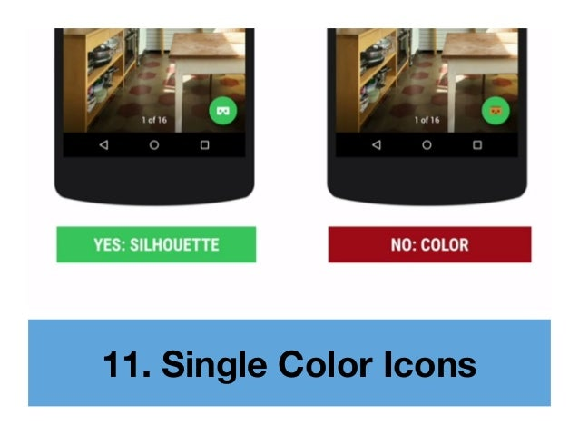 11. Single Color Icons