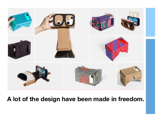 A lot of the design have been made in freedom.