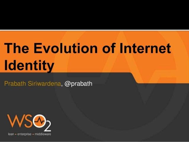 Prabath Siriwardena, @prabath