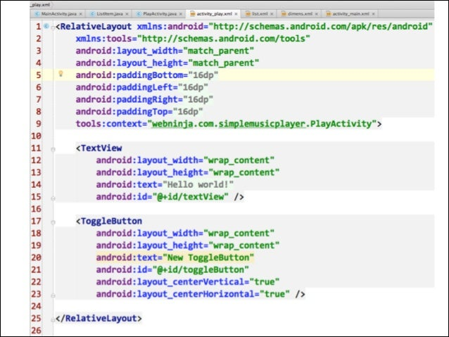 Android Developer - Music Player from scratch GDG Cebu