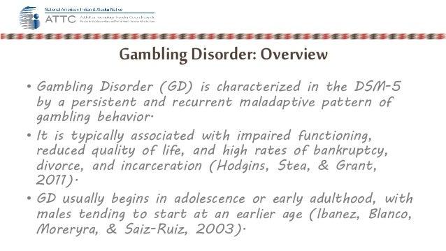Gambling disorder dsm 5 online gambling usa laws