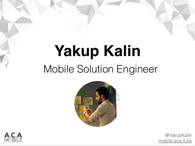 ACA-Mobile - Creating Enterprise Apps with MADP Slide 2
