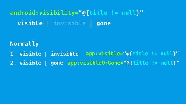 @BindingAdapter @Target(ElementType.METHOD) public @interface BindingAdapter { String[] value(); boolean requireAll() defa...