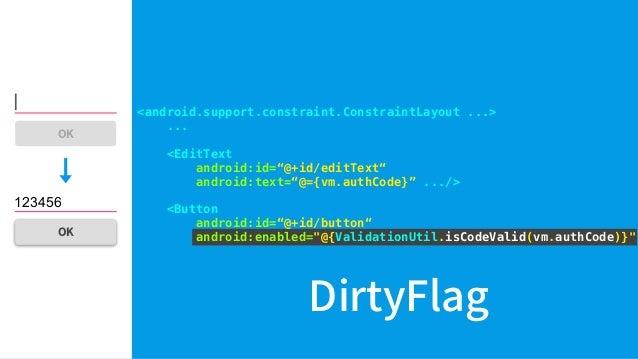 "activity_main.xml Layout Processor <layout> <data> <import type=""com....ValidationUtil""/> <variable name=""vm"" type=""com......"