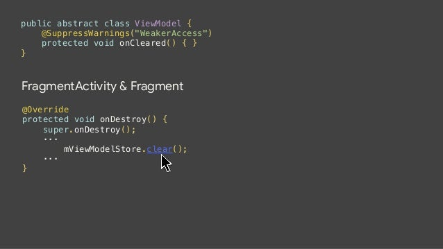 WARNING! ! Don't store Contexts in a ViewModel  ! Activities, Fragments, Views, etc