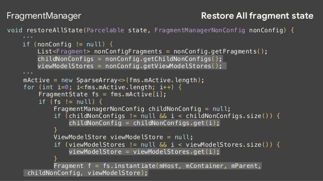 ViewModel could do ! Handle configuration changes? Yes!  ! Replace onSaveInstanceState()?